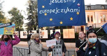 Das polnische Verfassungsgerichts entschied, dass Teile des EU-Rechts nicht mit der polnischen Verfassung vereinbar seien. Foto: Radek Pietruszka/PAP/dpa