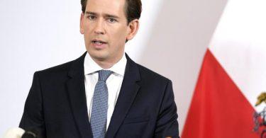 Die Luft wird dünn für Österreichs Kanzler Sebastian Kurz (ÖVP). Foto: Georg Hochmuth/APA/dpa