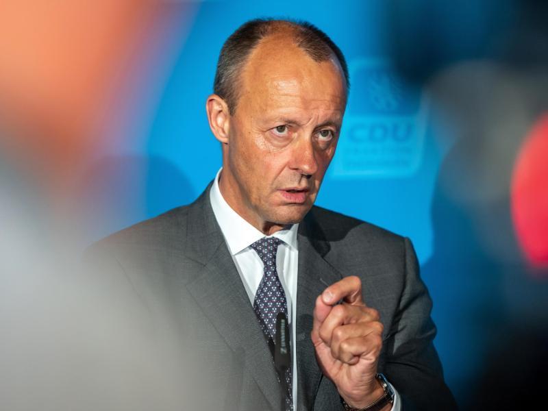 «Tiefpunkt unserer Zusammenarbeit»: In einem Newsletter übt CDU-Politiker Friedrich Merz Kritik - wohl vor allem an der Schwesterpartei CSU. Foto: Michael Reichel/dpa