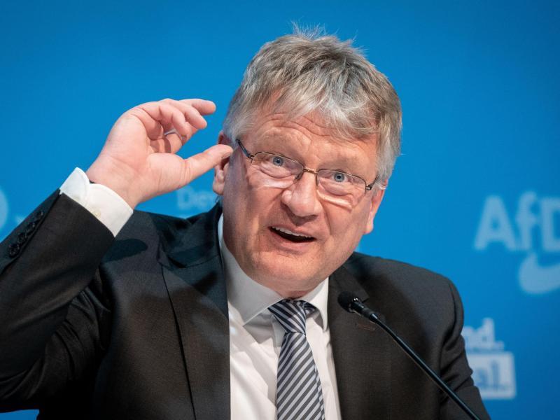 Der langjährige AfD-Co-Vorsitzende Jörg Meuthen will bei der Neuwahl des Parteivorstandes im Dezember nicht mehr für den Spitzenposten kandidieren. Foto: Kay Nietfeld/dpa