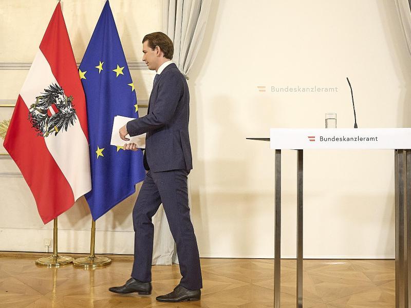 Abgang: Sebastian Kurz ist als Regierungschef zurückgetreten. Foto: Georges Schneider/XinHua/dpa