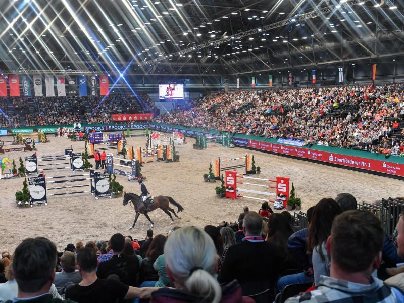 Die Veranstaltung in Leipzig ist in diesem Jahr keine der Etappen des Weltcups, sondern das Finale. Foto: Hendrik Schmidt/dpa-Zentralbild/ZB