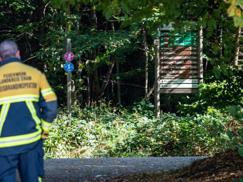 Bei einer Wanderung am tschechischen Berg Cerchov ist am 10.10.2021 ein achtjähriges Mädchen aus Berlin verschwunden. Foto: Armin Weigel/dpa