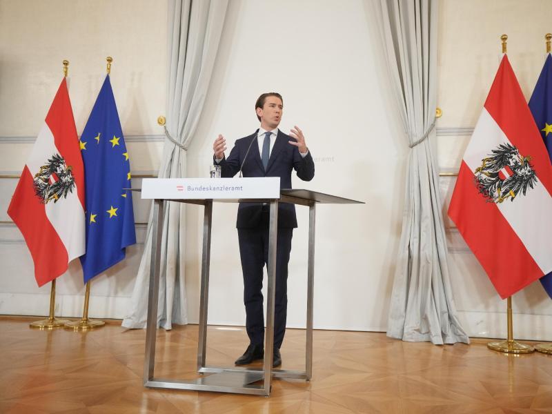 Österreichs Bundeskanzler Sebastian Kurz ist von seinem Amt zurückgetreten. Foto: Georg Hochmuth/APA/dpa