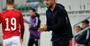 Sieht bei seinem Team noch Luft nach oben: U21-Nationaltrainer Antonio Di Salvo. Foto: Marton Monus/dpa