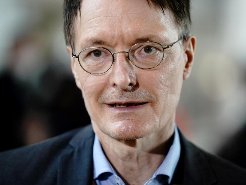 SPD-Gesundheitsexperte Karl Lauterbach. Foto: Kay Nietfeld/dpa