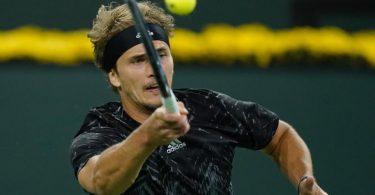 Steht in Indian Wells im Viertelfinale: Alexander Zverev. Foto: Mark J. Terrill/AP/dpa