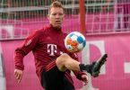 Fiebert dem Topspiel gegen Leverkusen entgegen:Bayern-Coach Julian Nagelsmann. Foto: Peter Kneffel/dpa