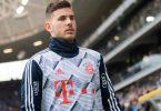 Aus der Bundesliga ins Gefängnis? Bayern-Star Lucas Hernández hat Ärger mit der spanischen Justiz. Foto: Tom Weller/dpa