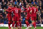 Sadio Mane (3.v.l) brachte Liverpool beim Sieg in Watford in Führung. Foto: Tess Derry/PA Wire/dpa