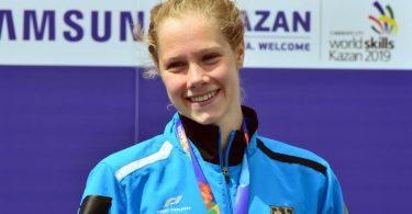 Die Olympia-Starterin und mehrfache deutsche Meisterin Finnia Wunram beendet ihre aktive Schwimm-Karriere. Foto: Martin Schutt/dpa/Archivbild