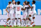 Der FC Bayern München gewann mit 5:1 gegen Bayer Leverkusen. Foto: Marius Becker/dpa