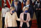 Auf der Tagesordnung für den Gipfel der EU-Staats- und Regierungschefs standen Diskussionen über die zuletzt stark gestiegenen Energiepreise in der EU, den digitalen Wandel und die Entwicklung der Corona-Pandemie. Foto: Olivier Matthys/AP/dpa