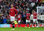 Cristiano Ronaldo musste mit Manchester United eine deftige Heimklatsche gegen den FC Liverpool hinnehmen. Foto: Martin Rickett/PA Wire/dpa