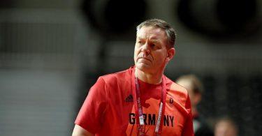 Alfred Gislason ist der Trainer der deutschen Handballer. Foto: Swen Pförtner/dpa