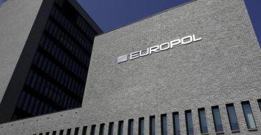 Das Hauptquartier der Europäischen Polizeibehörde Europol in Den Haag. Foto: Nicolas Maeterlinck/BELGA/dpa