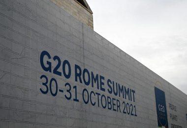 Der G20-Gipfel findet Rom statt. Foto: Johannes Neudecker/dpa