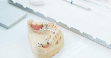 Eine herausnehmbare Zahnprothese benötigt eine gründliche Pflege. Genau wie bei echten Zähnen können sich auf ihr Bakterien ansiedeln und sich Plaque und Zahnstein bilden. Foto: Christin Klose/dpa-tmn