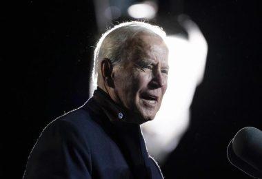 Joe Biden, Präsident der USA, spricht bei einer Kundgebung. (Archivbild). Foto: Alex Brandon/AP/dpa